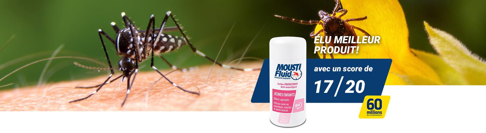 Moustiques et tiques